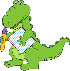 Basic Vocabulary - Animal - Alligator