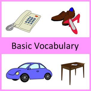 Basic Japanese Vocabulary with pictures