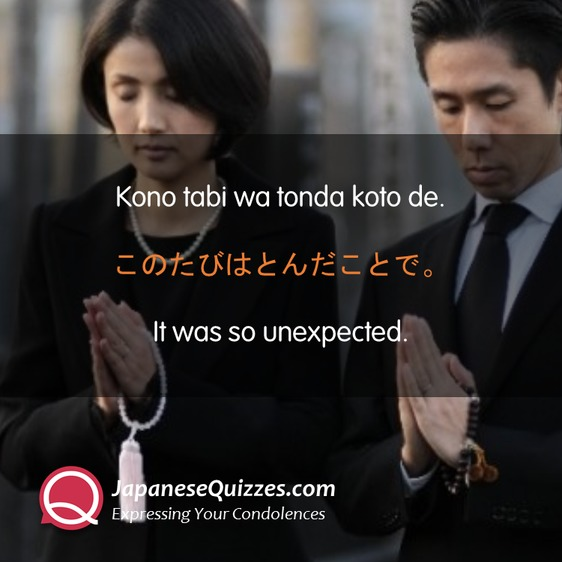 Expressing Your Condolences in Japanese